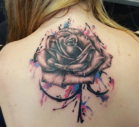watercolor tattoos glasgow 14 splendid watercolor flower tattoos tattoodo