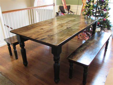 farmhouse tables with benches best 25 farmhouse table benches