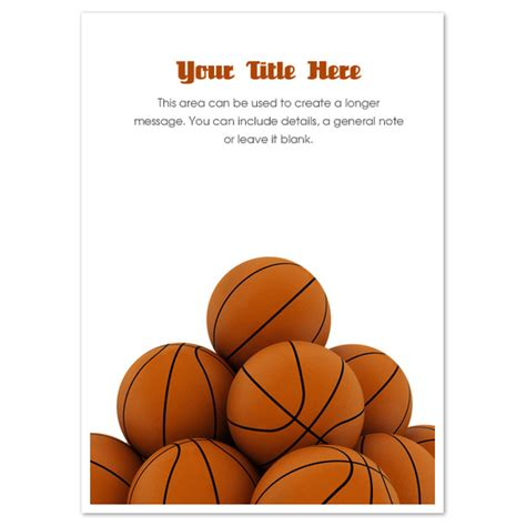 Basketball Pyramid, Invitations & Cards on Pingg.com