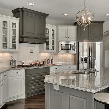 Moon White Granite Countertops   Transitional   Kitchen