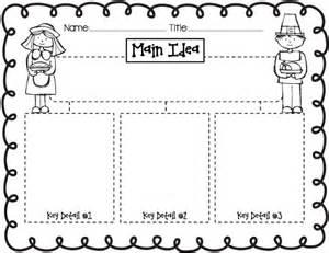 main idea key details thanksgiving edu thinking maps