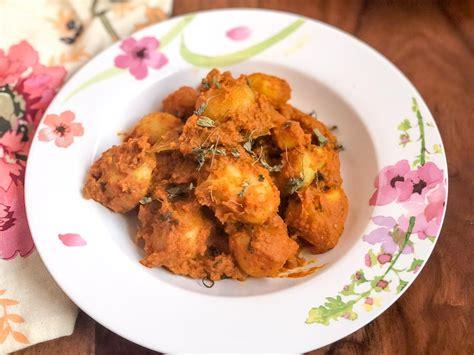 Bengali Kitchen Recipe by Bengali Aloo Dum Recipe By Archana S Kitchen