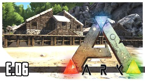 ark house design xbox one ark survival evolved taming mammoth house progress
