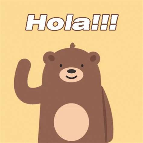 imagenes de hola muñeco hola gif hola bear discover share gifs