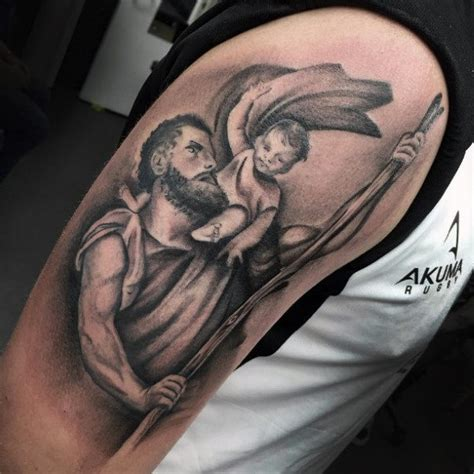 saint christopher tattoo designs 62 popular st christopher ideas gallery golfian