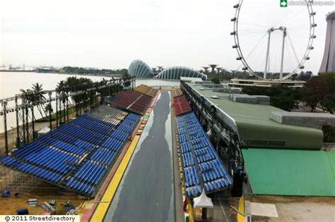 pit building side view of f1 pit building building image singapore