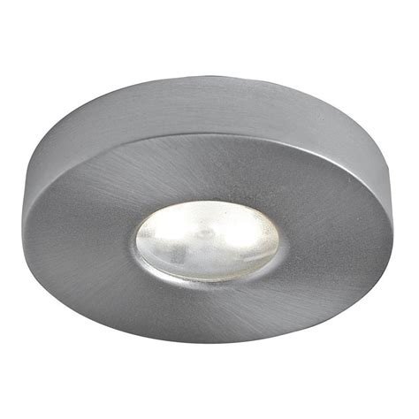 Shop Dals Lighting 2 63 In Hardwired Plug In Under Cabinet Puck Cabinet Lighting