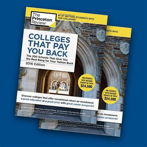 colleges that pay you back 2018 edition the 200 schools that give you the best for your tuition buck college admissions guides books berea featured in princeton review book quot colleges that