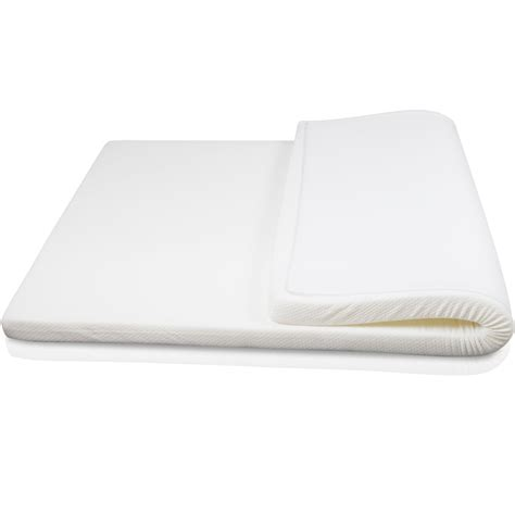 Single Bed Memory Foam Mattress Topper Visco Elastic Memory Foam Mattress Topper 7cm Single