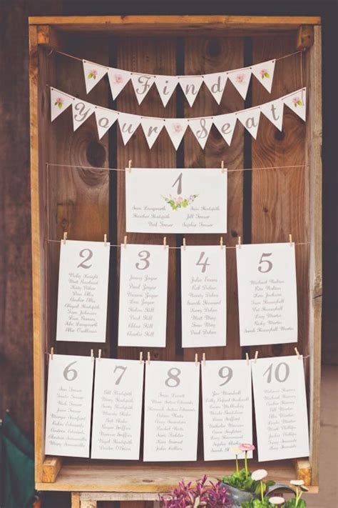wedding table seating the 25 best seating plan wedding ideas on