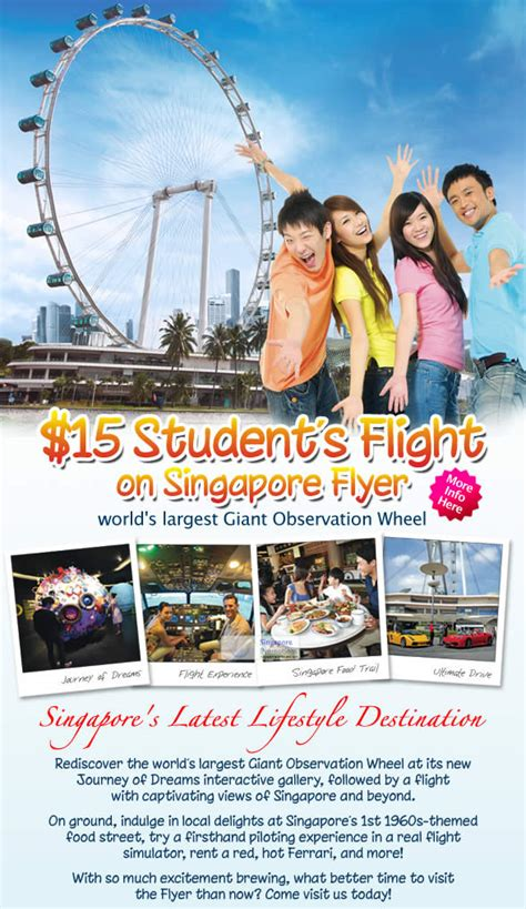 Singapore Flyer E Ticket singapore flyer 15 tickets for students 21 mar 2012