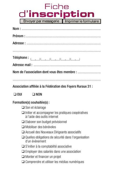 Formulaire Credit Formation Dirigeant 2014 Calam 233 O Formation 2013 2014 Fiche D Inscription Remplissable