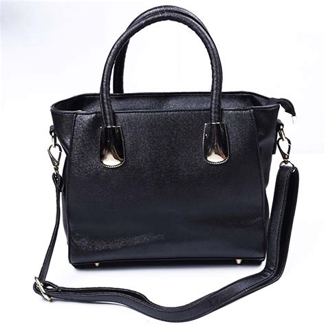 revogue  designer black hand purse  ladies