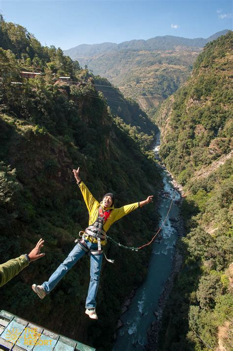canyon swing nepal canyon swing overnight stay the last resort in