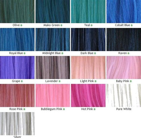 what is kanekalon hair types chart kanekalon wefts color chart part 2 kanekalon hair