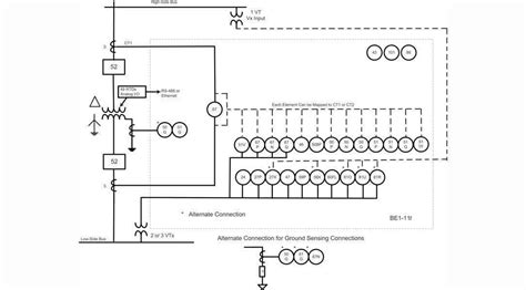 transformer protection wiring diagram free
