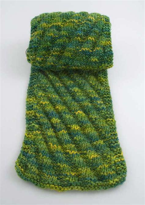 knitting pattern diagonal scarf diagonal knit scarf pattern a knitting blog