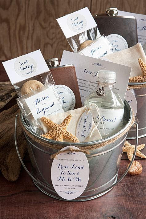 Wedding Baskets by Nautical Themed Wedding Welcome Basket Wedding Inspiration