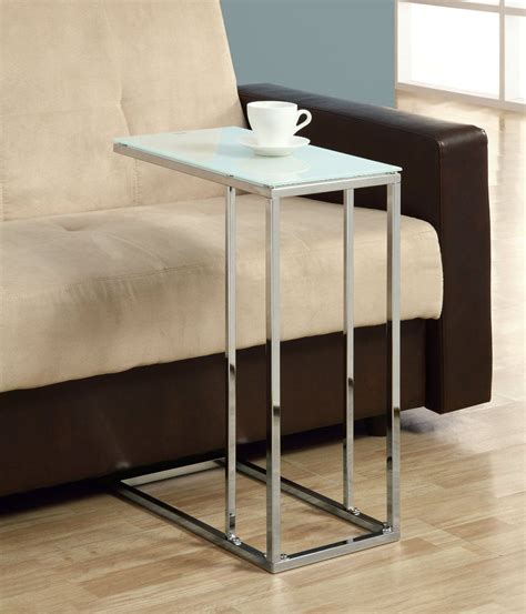 glass sofa side table amazonsmile coaster 900250 contemporary snack table with