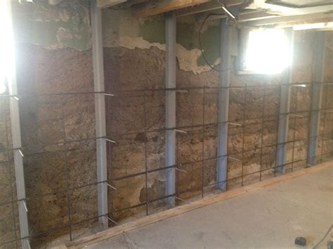 basement wall bracing bracing basement walls 28 images gallery foundation wall repair in mansfield springfield