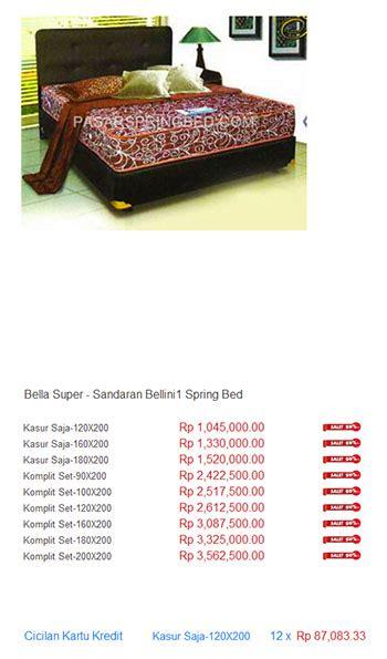 Kasur Bigland Di Bandung harga bed harga bed termurah di