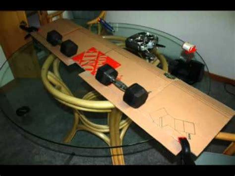 build  cardboard rc airplane youtube