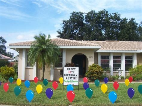 Yard Decorations For Birthday by 81 Best Images About Birthday Lawn Signs On
