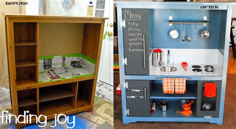 Convert Tv Cabinet To Play Kitchen Entertainment Center 10 Fantastic Diy Play Kitchens