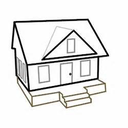 easy houses to draw drawing cartoon houses