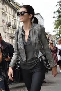 kendall jenner fashion week 2014 kendall jenner in tights at milan fashion week 2014 08