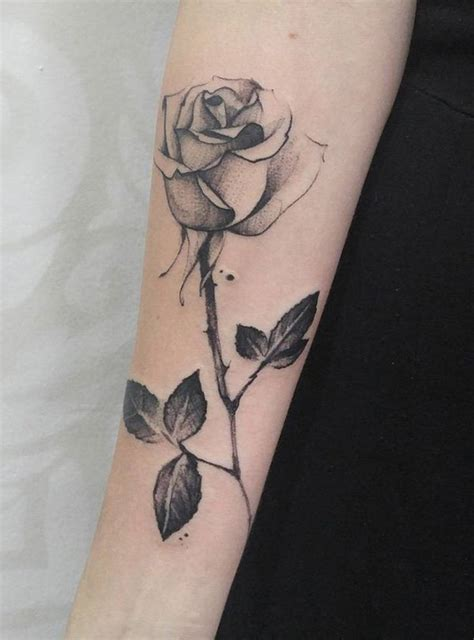 rose tattoo photos forearm designs ideas and meaning tattoos