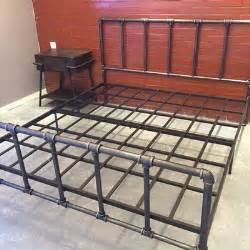 Bed Frame Fittings Uk 25 Best Ideas About Pipe Bed On Industrial