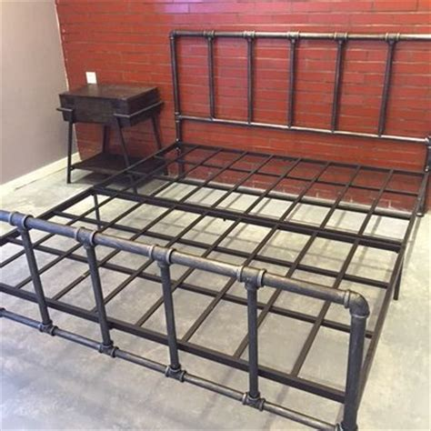 pipe bed frame 25 best ideas about pipe bed on pinterest industrial bed frame industrial