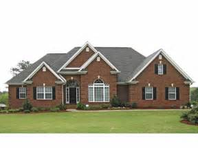 brick house plans with photos eplans new american house plan traditional brick ranch 2310 square feet and 3 bedrooms from