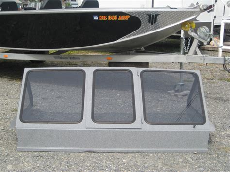 folding boat windshield power boat items willie boats