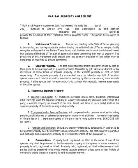 Agreement Letter For Property 8 Property Agreement Form Sles Free Sle Exle Format