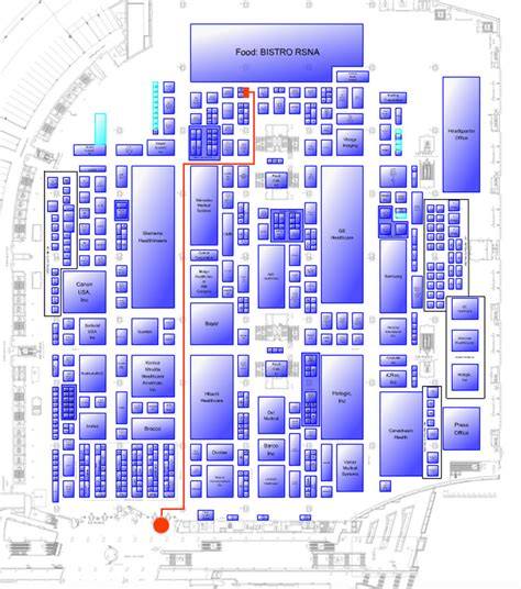 rsna floor plan rsna 2017 floor plan thefloors co