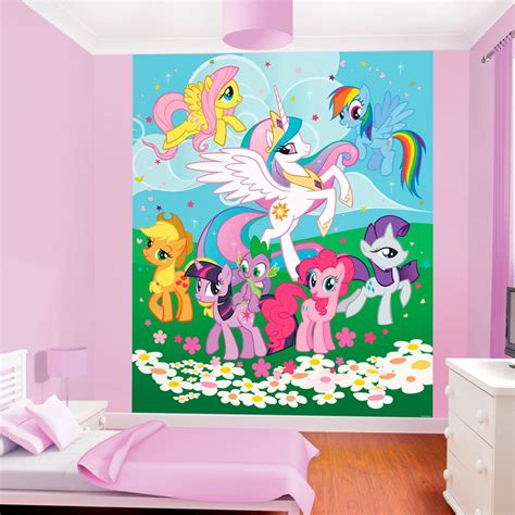 my little pony bedroom my little pony friendship wallpaper by walltastic great