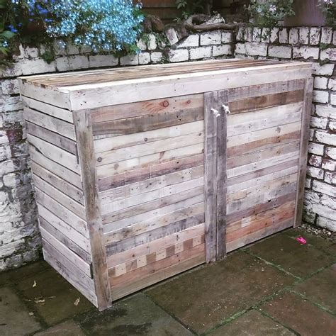pallet upcycle ideas upcycled pallet bike shed pallet ideas recycled