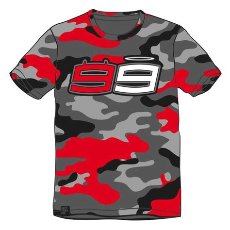 Jorge Lorenzo 99 T Shirt jorge lorenzo t shirt 99 camo buy and offers on motardinn