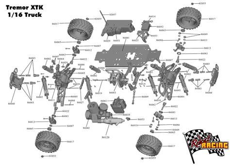 rc car diagram redcat racing rc cars rc car parts