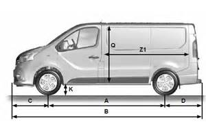 Dimensions Of Renault Trafic Renault Trafic Dimensions Caract 233 Ristiques Techniques