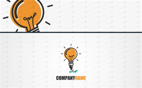 Light Bulb Pen creative light bulb logo for sale light bulb pen lobotz
