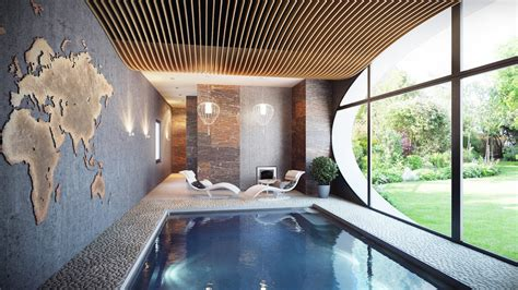 inside swimming pool best inspiring indoor swimming pool design ideas desainideas