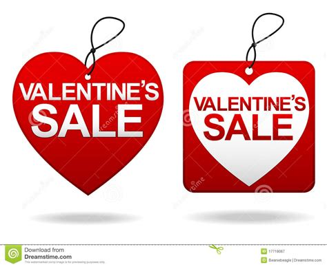 valentines sales s day sale tage royalty free stock photography