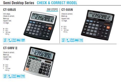Diskon Citizen Ct 500js Calculator calculators citizen systems japan co ltd