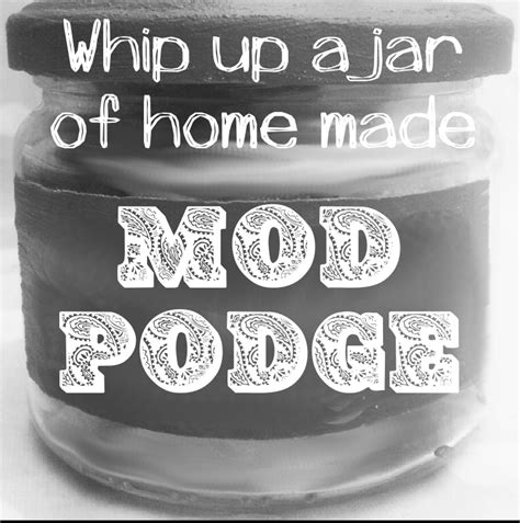 Can You Use Pva Glue For Decoupage - home made mod podge recipe don t be hoodwinked