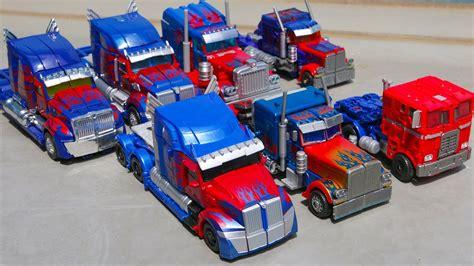 Trucker Eleven 5 transformers 1 2 3 4 5 voyager class optimus prime 7