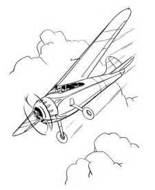 free coloring pages airplane printable
