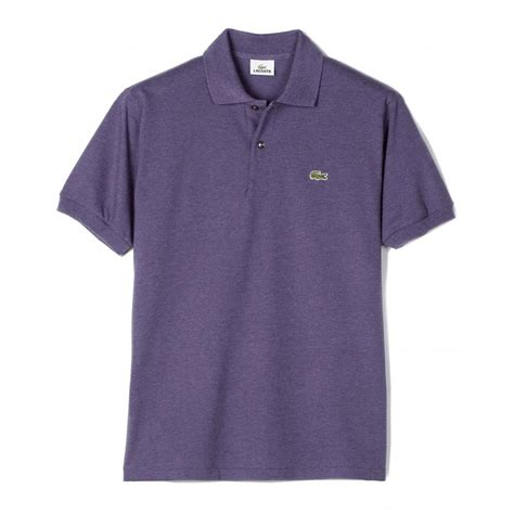 Polo Shirt Locoste lacoste mottled original polo shirt lacoste from gibbs